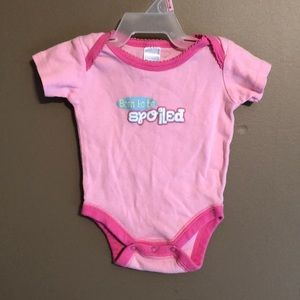 💋Born to be spoiled onesie